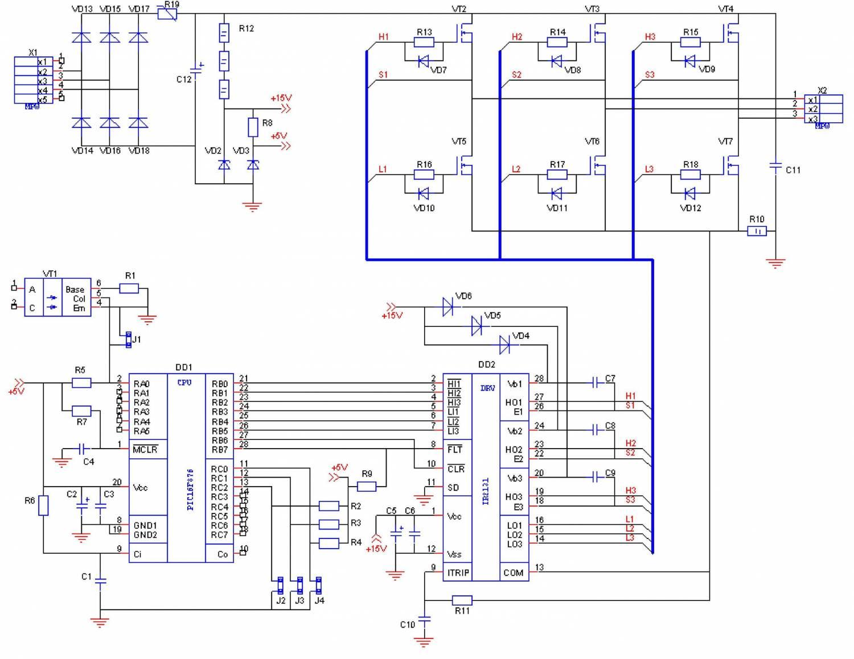Схемы любительских частотных преобразователей» 40